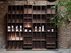 Open wall-mounted bookcase LITERATURA LIGHT - Punt