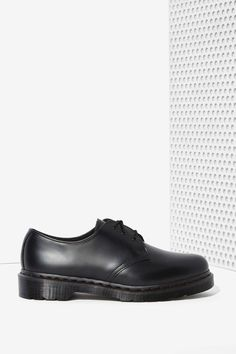 Dr. Martens 1461 3-Tie Leather Shoe - Black