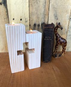 Your place to buy and sell all things handmade - Cross Candle Holders Christmas Wood, Christmas Crafts, Christmas Candles, Scandinavian Christmas, Baptism Candle, Baptism Favors, Advent Candles, Wooden Crosses, Wooden Candle Holders