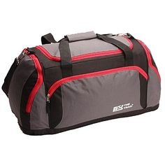 Briscoes - Trail Ohio Grip Bag Grey Black & Red