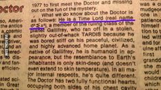 The Doctor's real name revealed in 1980 comic book. - 9GAG