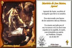¿Cómo murieron los Apóstoles? San Mateo