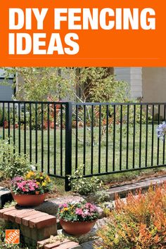 This Home Depot guide discusses fence material types, styles and usage guidelines. Read on for an excellent comparison of the types of fences for your fencing project.