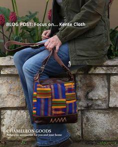 Read our blog post on Kente Cloth - Chameleon Goods #blogpost #kentecloth