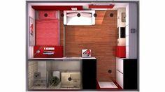 Recopilación de planos de casa pequeñas (mis minipisos)