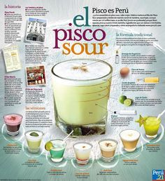 Un Pisco Sour - officially my new favorite drink!