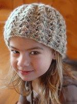 Easy knit hat.