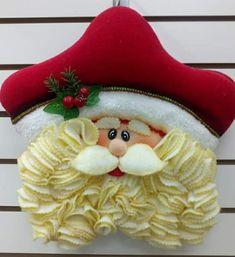 Christmas Items, Christmas Stockings, Christmas Crafts, Christmas Decorations, Christmas Ornaments, Holiday Decor, Felt Ornaments, Floral Arrangements, Santa