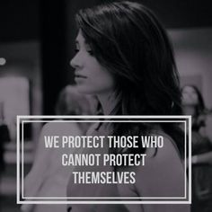 We protect those who cannot protect themselves.RIP Allison Argent
