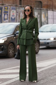 The Milan Fashion Week Street Style Looks We Want To Copy - Milan Fashion Week Street Style AW18 from InStyle.com