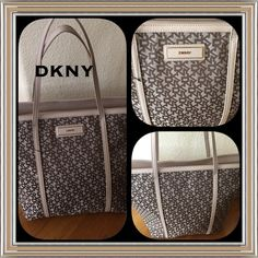 DEAL OF THE DAYHP 10/24DKNY large handbag  Just in. DKNY large designer handbag. BRAND NEW. Stuffing and all. Retails for over 300.00. one zipper pocket inside and 2 others. Make a reasonable offer DKNY Bags Shoulder Bags