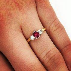Want to win this vintage ruby and diamond ring?? 1. follow us on Instagram @Single Stone LA 2. post this contest photo or share your own photo of your favorite Single Stone piece 3. hashtag #sslagiveaway 4. Winner chosen at random once we hit 3k followers