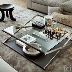 Coffee Table Ideas | Nox Coffee Table by Gallotti & Radice | www.bocadolobo.com