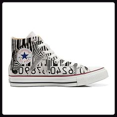 Make Your Shoes Converse Customized Adulte - chaussures coutume (produit artisanal) Peacock - size EU 36 HRoU1TABTk