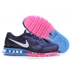 low priced 06dfd f650e Find Womens Nike Air Max 2014 Mesh Navy Blue White Pink Top Deals online or  in Pumacreeper. Shop Top Brands and the latest styles Womens Nike Air Max  2014 ...