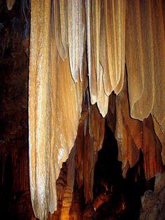 Drapes of Stone, Luray Caverns, Virginia