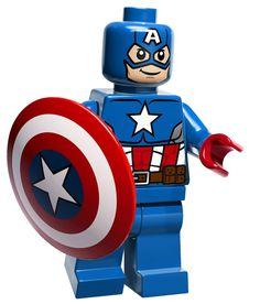 Large Captain America WALL STICKER super cute by Hatsbyalyssa