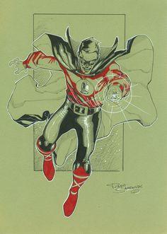 Green Lantern (Alan Scott) by Rafa Sandoval