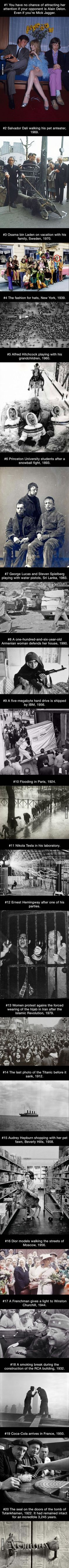 20 utterly unique historical photographs you've probably never seen before
