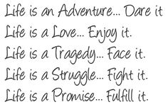 ...life is all about ;)