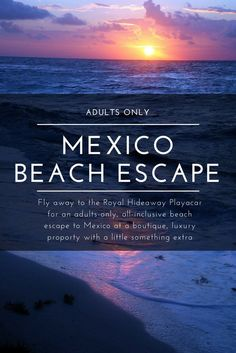 Escape to the Royal Hideaway Playacar an all-inclusive adults only luxury resort in Mexico where the crowds and your stress will just melt away