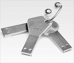 cool usb flash drive 'keys'