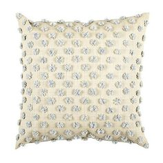 Parker Pom Pom Raffia Pillow