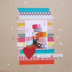 washi tape layout  ;o)