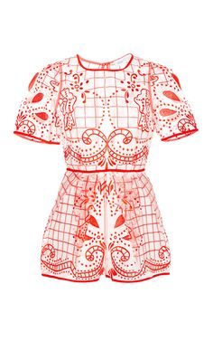 Space Is The Only Noise Lace Playsuit by ALICE MCCALL Now Available on Moda Operandi