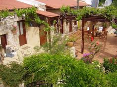 Traditional stone property in Crete for sale, a beautiful traditional style village house of 170m² well appointed on its own plot of 2.530m² situated west of Chania close to a gorge inland from the north coast of Crete at a height of 425m and overlooking the wonderful green valley, now available for sale…