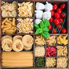 Existe una gran variedad de tipos de pasta dentro de la cocina italiana. En este post os enseño los más conocidos para preparar las recetas más populares.