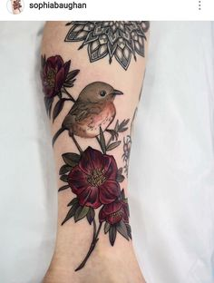 Love the muted colors - idea for my right sleeve