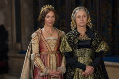 The White Princess - Duchess Cecily and Margaret of Burgundy