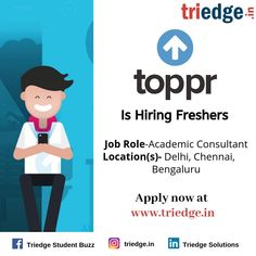 Your one stop career platform to find Jobs, Internships, Professional Trainings, Projects, and Volunteering Opportunities in India Find opportunities in Engineering, Media, Finance, Sales, Digital Marketing, HR, IT, Operations, Research, Analytics, Content, Hospitality, Healthcare more.  #fresherjobs #freshers #jobsinIndia #fresherjobsinIndia  #freshersinindia #jobsinbengaluru #jobsindelhi