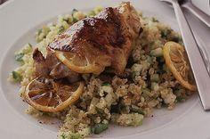 Lemon chicken with tabbouleh recipe - goodtoknow