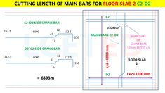 In this article you can know how to calculate steel quantity for slab manually. which you can apply in excel Civil Engineering Software, Civil Engineering Books, Civil Engineering Design, Framing Construction, Civil Construction, Civil Drawing, Split Level House Plans, Steel Structure Buildings, Floor Slab
