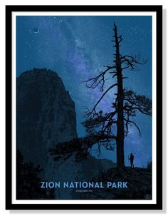 """Eight color screen printed poster byDan McCarthy.18""""x24""""…"""