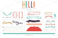 Check out Happy Banners (Clipart) by LaRue & Company on Creative Market