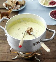 Käsefondue - Rezepte - [LIVING AT HOME]