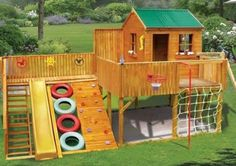 0_Awesome_Kids_Cubby_Houses playground cubby