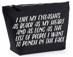 I Like My Eyelashes As Black As My Heart And by JustAnotherTeeUK