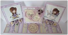This is a tutorial Sheryl did for us for this week. She made a gorgeous Triple Easel Card and was kind enough to do the instructions for us....