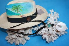 @BlackCoral4you Black Coral, Turquoise, Mother of Pearl, Sterling Silver and Panama Hat ART Original / Coral Negro, Turquesa, Madre Perla, Plata de Ley y Sombrero Panama ART Original  http://blackcoral4you.wordpress.com/
