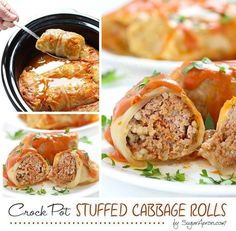 Ingredients         For the cabbage rolls   12 cabbage leaves   leftover   1 egg, beaten   1/4 cup water, broth or tomato sauce   1?4 cup finely chopped onion   1 tsp. garlic powder   1/4 tsp. black pepper   1 1/4