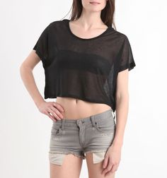 Miss Chievous embellished city top   $18.99
