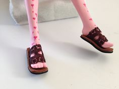 how to make Monster High doll shoes