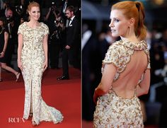 Jessica Chastain In Chanel Couture – 'In The Fade (Aus Dem Nichts)' Cannes Film Festival Premiere