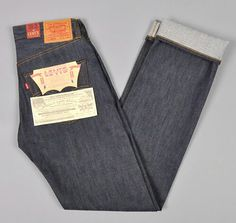 Hard denim 501 levis