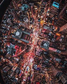 NYC from above ❤️ | Instagram photo by @bskphoto