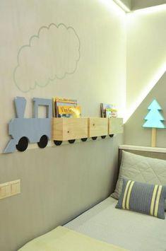 Pekmez + Boz TE Sancaktepe Jungenzimmer - Home Fashions Baby Bedroom, Baby Boy Rooms, Kids Bedroom, Bedroom Decor, Decor Room, Nursery Room, Master Bedroom, Toddler Rooms, Kids Rooms